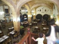 Restaurant Es Celler from the stairs